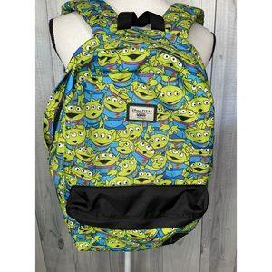 VANS X DISNEY Toy Story Aliens Backpack RARE